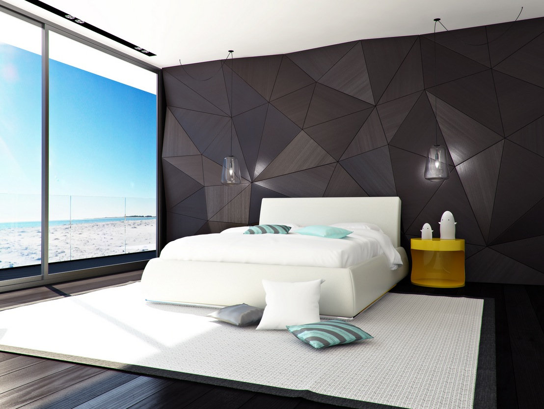 amazing modern bedroom design with nice wall art  355   Kharlota. amazing modern bedroom design with nice wall art  355   Kharlota