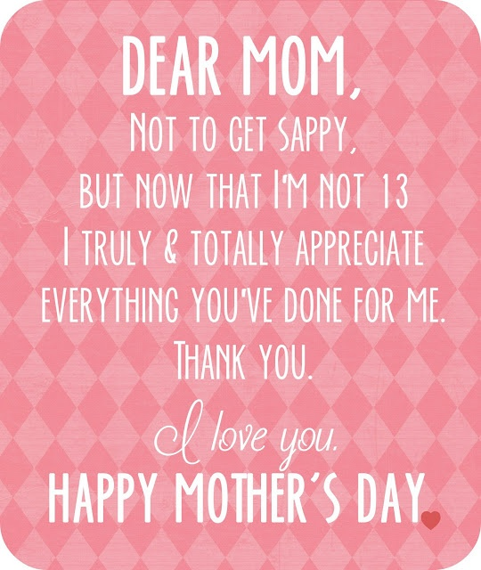 Love You Thank You Quotes Alluring Dear Mom I Love You Quotes Sayings 9  Demipix 585610 On Wookmark