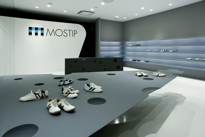 MOSTIP shoe shop by EASTERN Design Office, Shiga Japan » Retail Design Blog