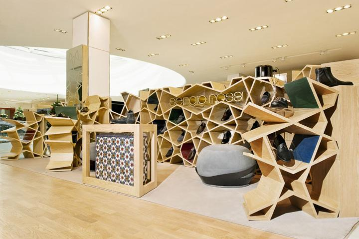 Sergio Rossi Shop by Younes Duret Design, Casablanca – Morocco » Retail Design Blog