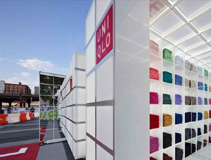POP UP! UNIQLO Pop Up Store by HWKN, New York » Retail Design Blog