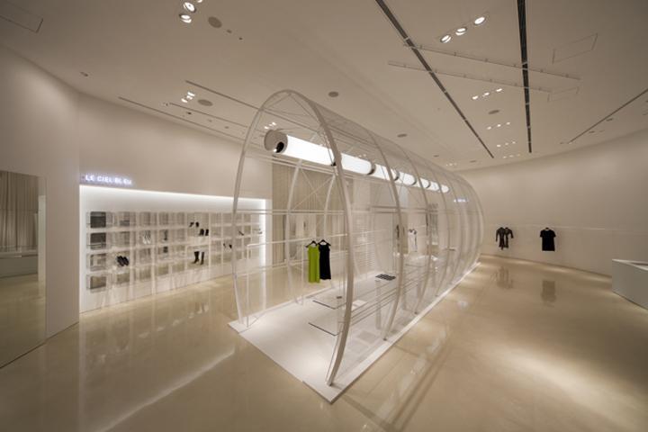 Le Ciel Bleu store by Noriyuki Otsuka, Japan » Retail Design Blog