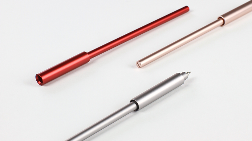 ensso aims to design the most minimal pen / pencil uno