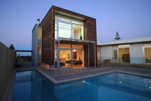 Waimarama House – Contemporary Beach House By H+M Architecture:: Classic Home
