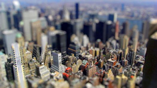 New York City - tilt-shift HD Wallpaper | Magicwallpapers.net