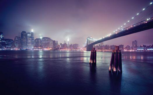 Manhattan East River - New York City, Brooklyn HD Wallpaper | Magicwallpapers.net
