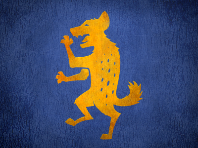 Hyena Coat of Arms by David Lanham