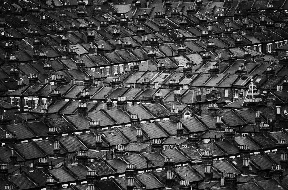 Black and White Urban Scenes by Charles Brabin