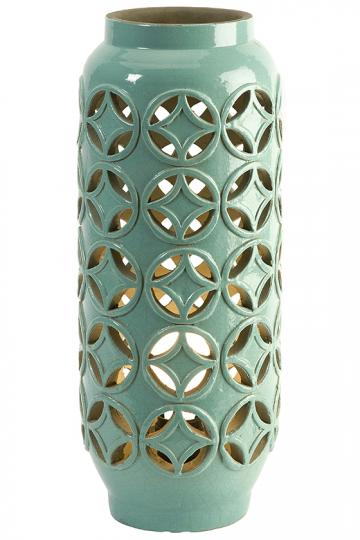 Creighton Cutwork Ceramic Lamp - Accent Lamp | HomeDecorators.com