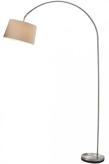 Phillips Arch Floor Lamp - Arc Floor Lamps - Arch Floor Lamps - Modern Floor Lamps - Unique Floor Lamps - Adjustable Floor Lamps | HomeDecorators.com