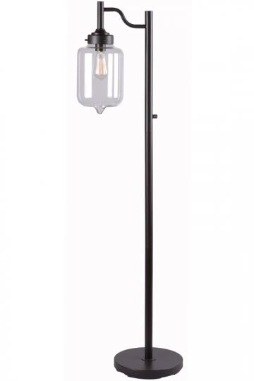 Anton Floor Lamp - Industrial Floor Lamp - Floor Reading Lamps - Unique Floor Lamps | HomeDecorators.com