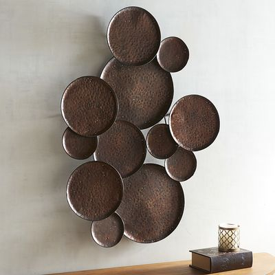 Hammered Plates Wall Decor | Pier 1 Imports