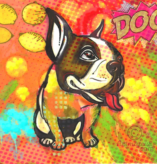"""Pop Art Dog"