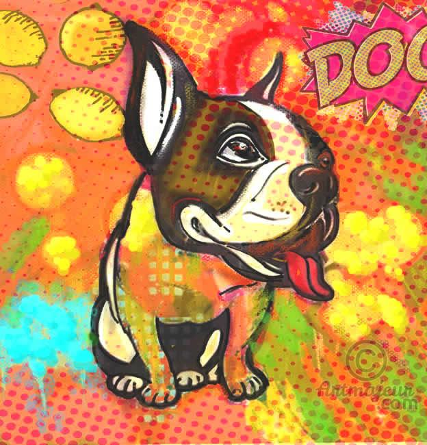 """Pop Art Dog"