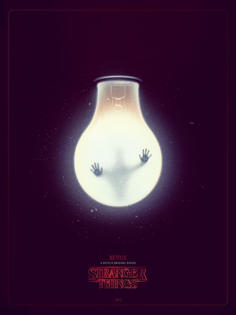 SerialThriller — Stranger Things Tribute Poster