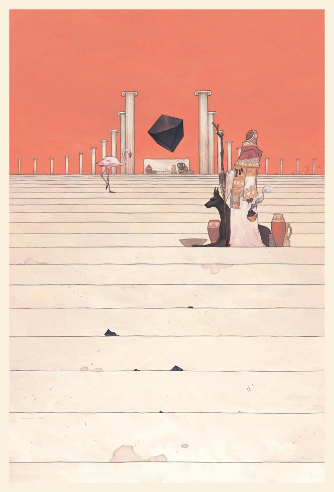 Ancients - Gabriele Brombin – Illustrator + visual designer