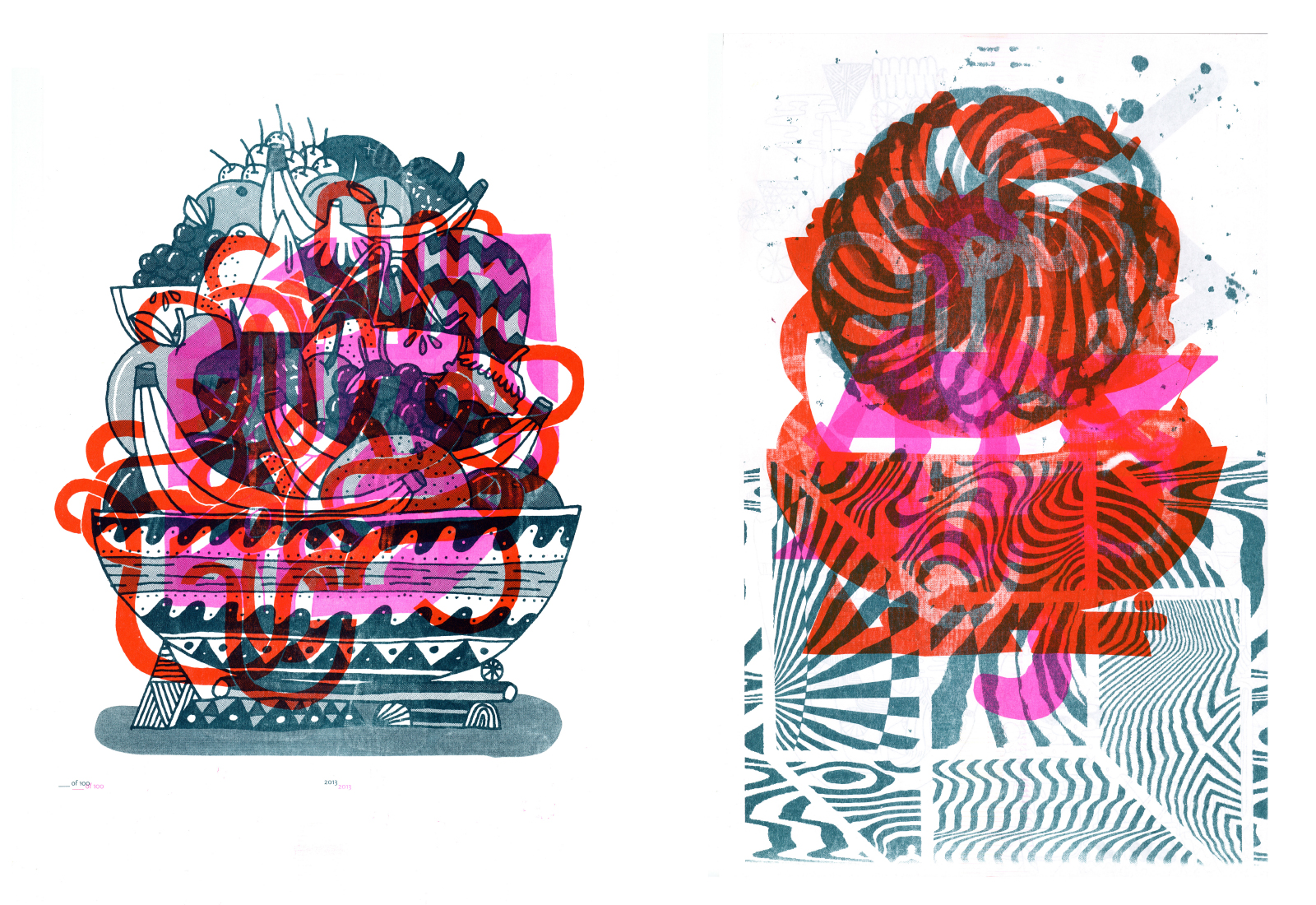RISOGRAPH EXPERIMENTS | Mike Perry Studio