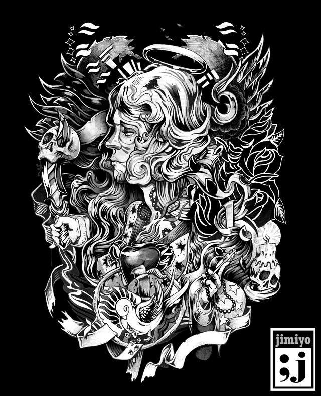 Black In white | Timeline