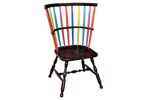 One Kings Lane - Furniture for All - Amabel Rainbow Chair