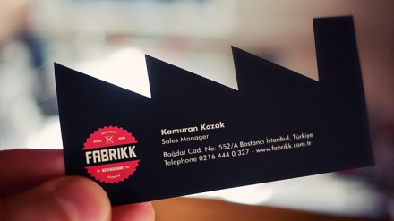 Fabrikk Restaurant Branding | Restaurant branding, marketing and other notes on various design topics