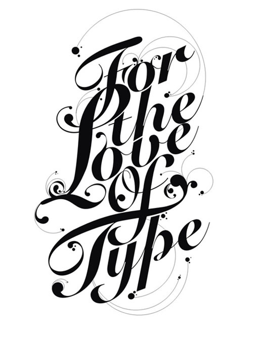 50 Inspirational Typographic Poster Designs | Inspired Magazine