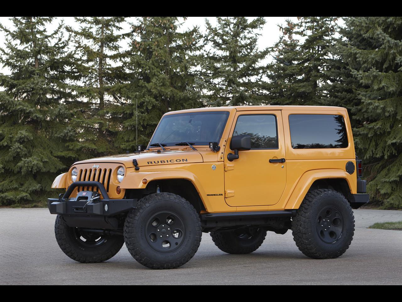 2012 Jeep Moab Easter Safari Concepts - Mopar Accessorized Jeep Wrangler - 1280x960 - Wallpaper