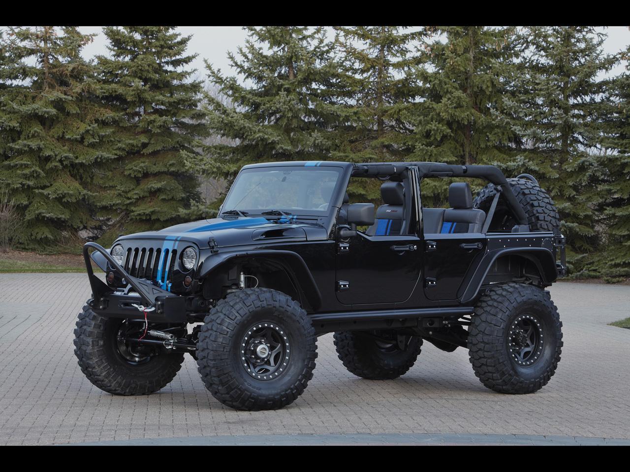 2012 Jeep Moab Easter Safari Concepts - Jeep Wrangler Apache - 1280x960 - Wallpaper