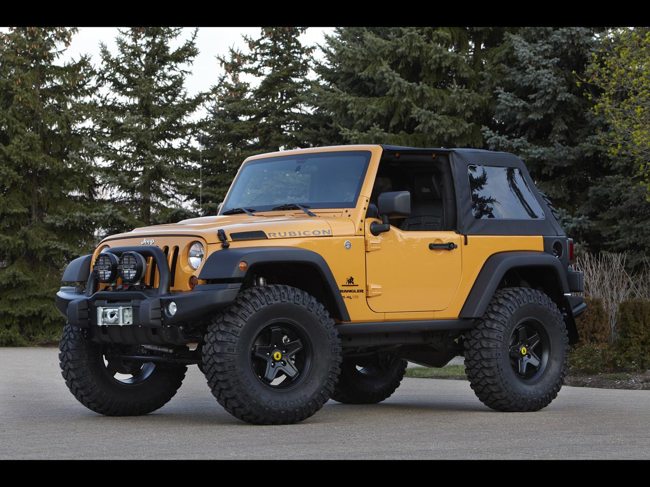 2012 Jeep Moab Easter Safari Concepts - Jeep Wrangler Traildozer - 1280x960 - Wallpaper