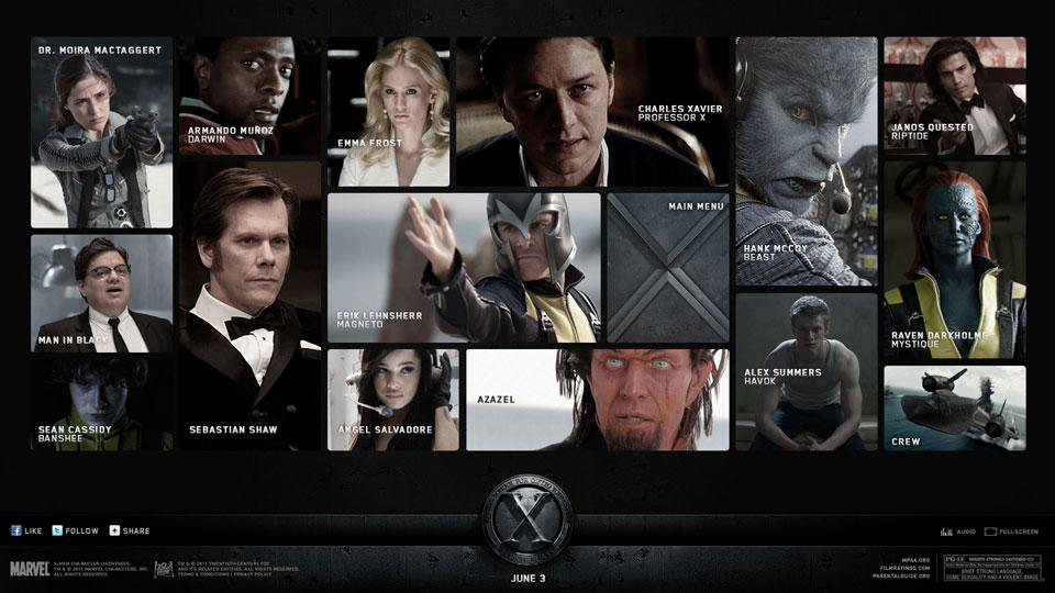 CW. / Design & Art Direction / X-MEN FIRST CLASS