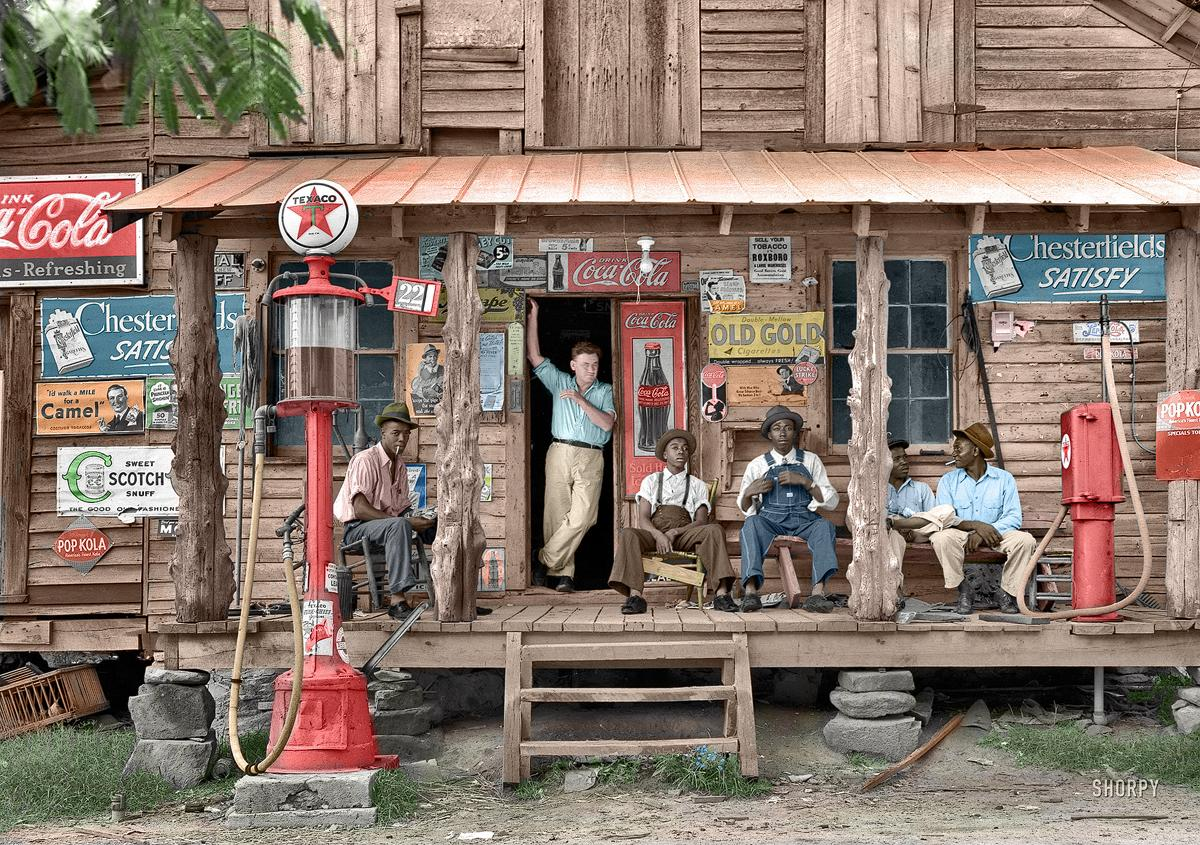 Pop Kola, Kolorized: 1939 | Shorpy Historical Photo Archive