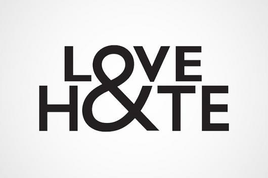 Designspiration — Love&Hate : Jack Maxwell