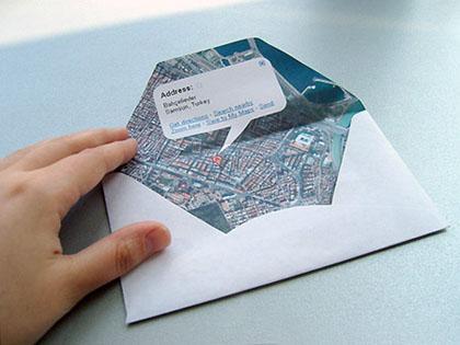 groeten uit…..DIY google envelop | 101 Woonideeën