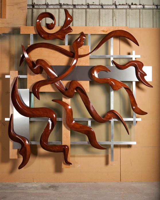Sculpted-Wood-on-Metal-Grid