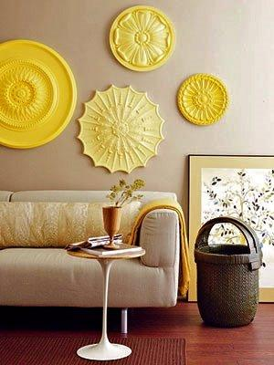 Easy Chic With Yellow And Gray