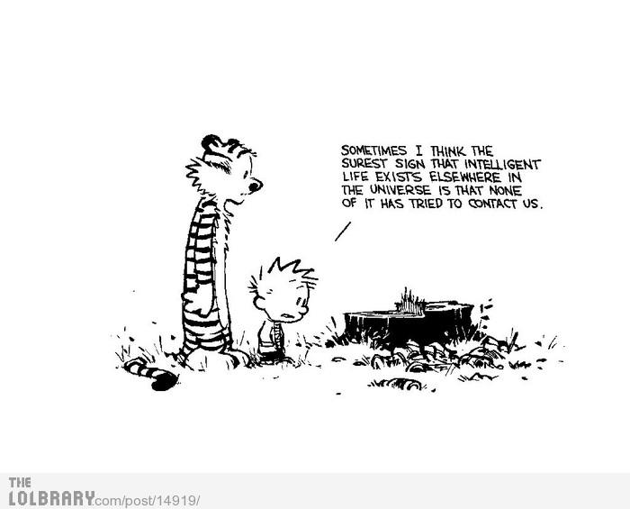 Calvin & Hobbes Wisdom | The Lolbrary - New Funny Random Pictures Added Daily