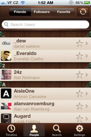 Friends / iOS UI Patterns (beta)