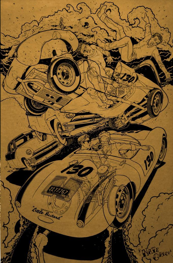 Automotive Art, Hot Rod Illustrations and Hot Rod Art by Nate Greco.