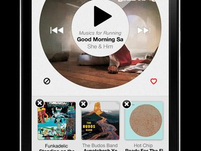 Iphone Music App by Ricardo Saavedra