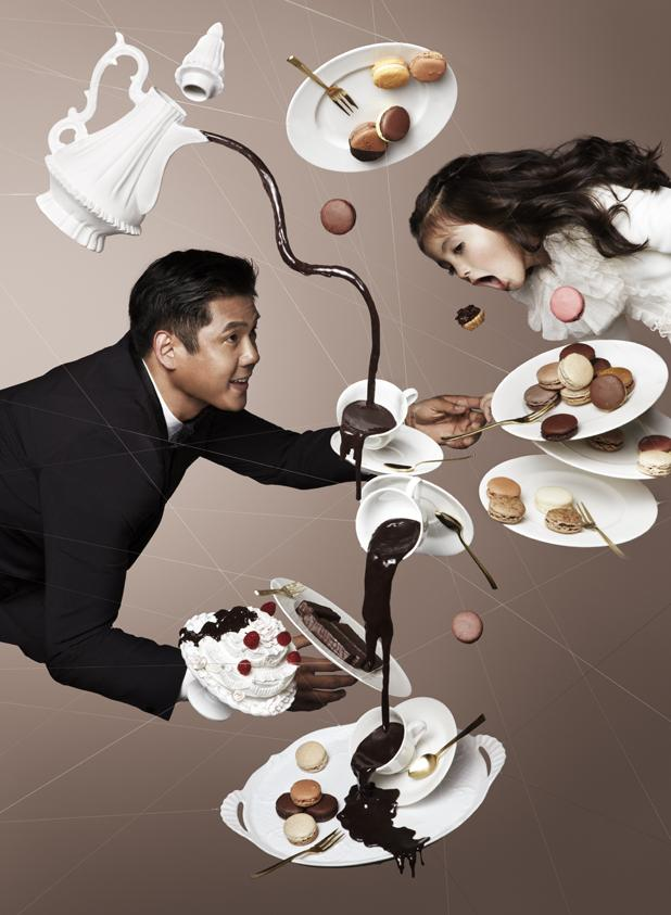 Gravity Defying Photography for Chocolate Trail by NAM | Colossal