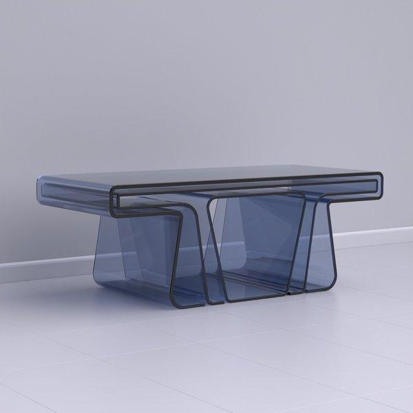 Treforma Nesting Tables on Industrial Design Served