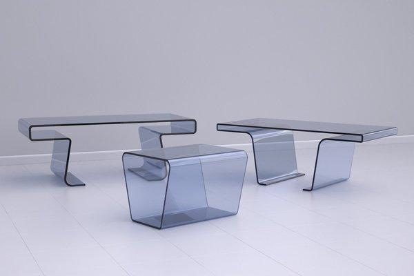Treforma Nesting Tables on Industrial Design Served