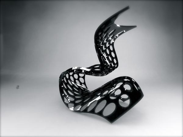 Venom Chair on Industrial Design Served