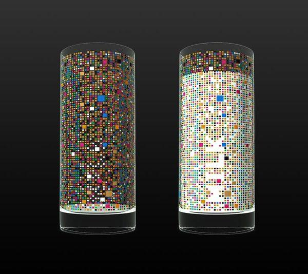Cipher - Drinking glass concept on The Digital Age Served