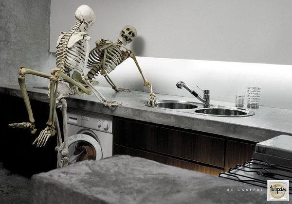 Skeleton on The Digital Age Served