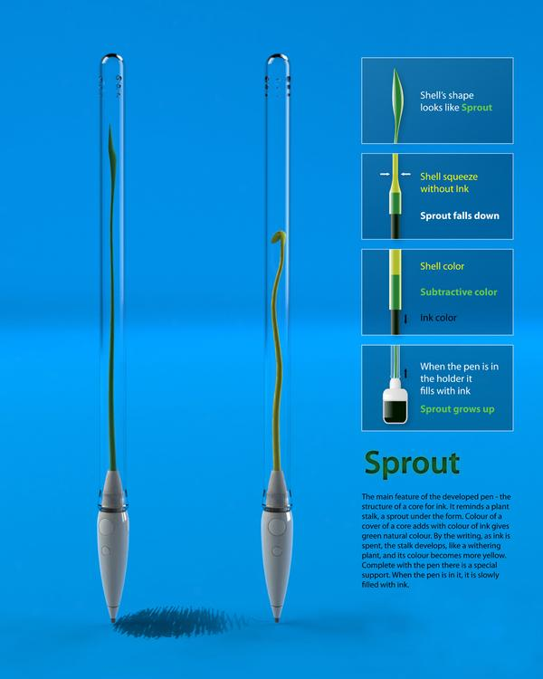 Sprout | Pen concept on The Digital Age Served