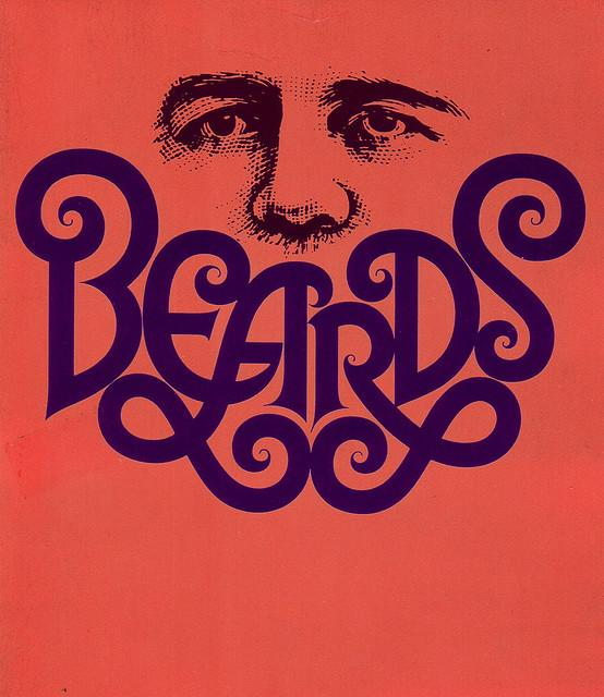 Beards, cropped and color shifted from a design by Herb Lubalin | Flickr - Photo Sharing!