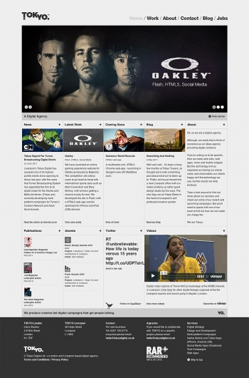 Web design inspiration | #398 « From up North | Design inspiration & news