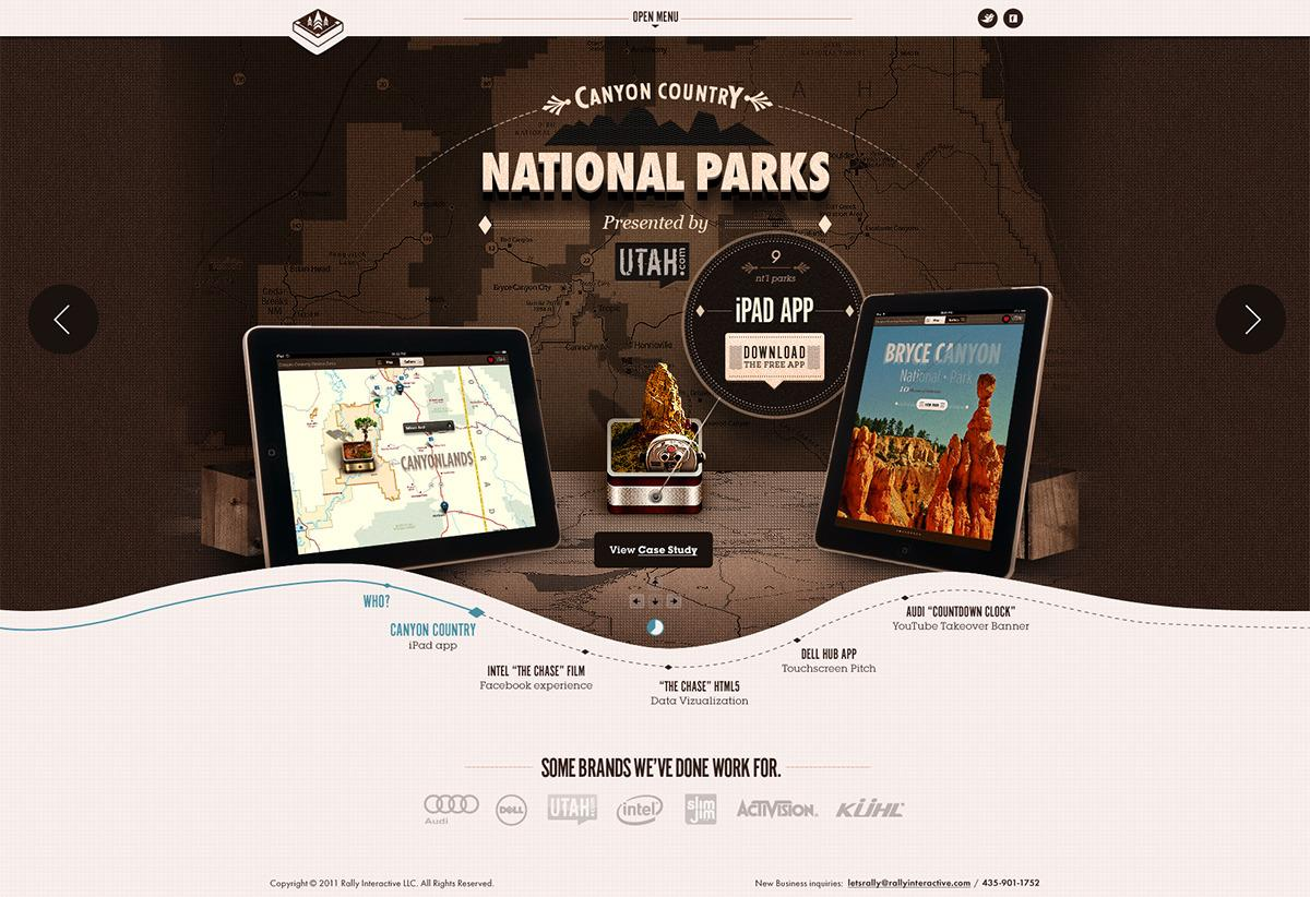 Web design inspiration | #383 « From up North | Design inspiration & news