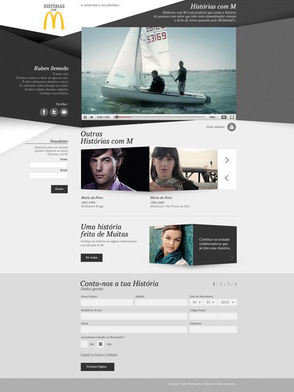 Web design inspiration   #288 « From up North   Design inspiration & news