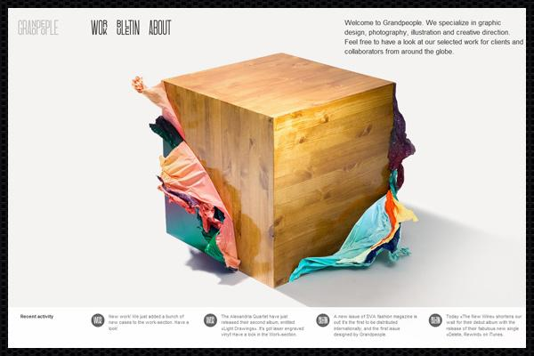 Web design inspiration | #272 « From up North | Design inspiration & news